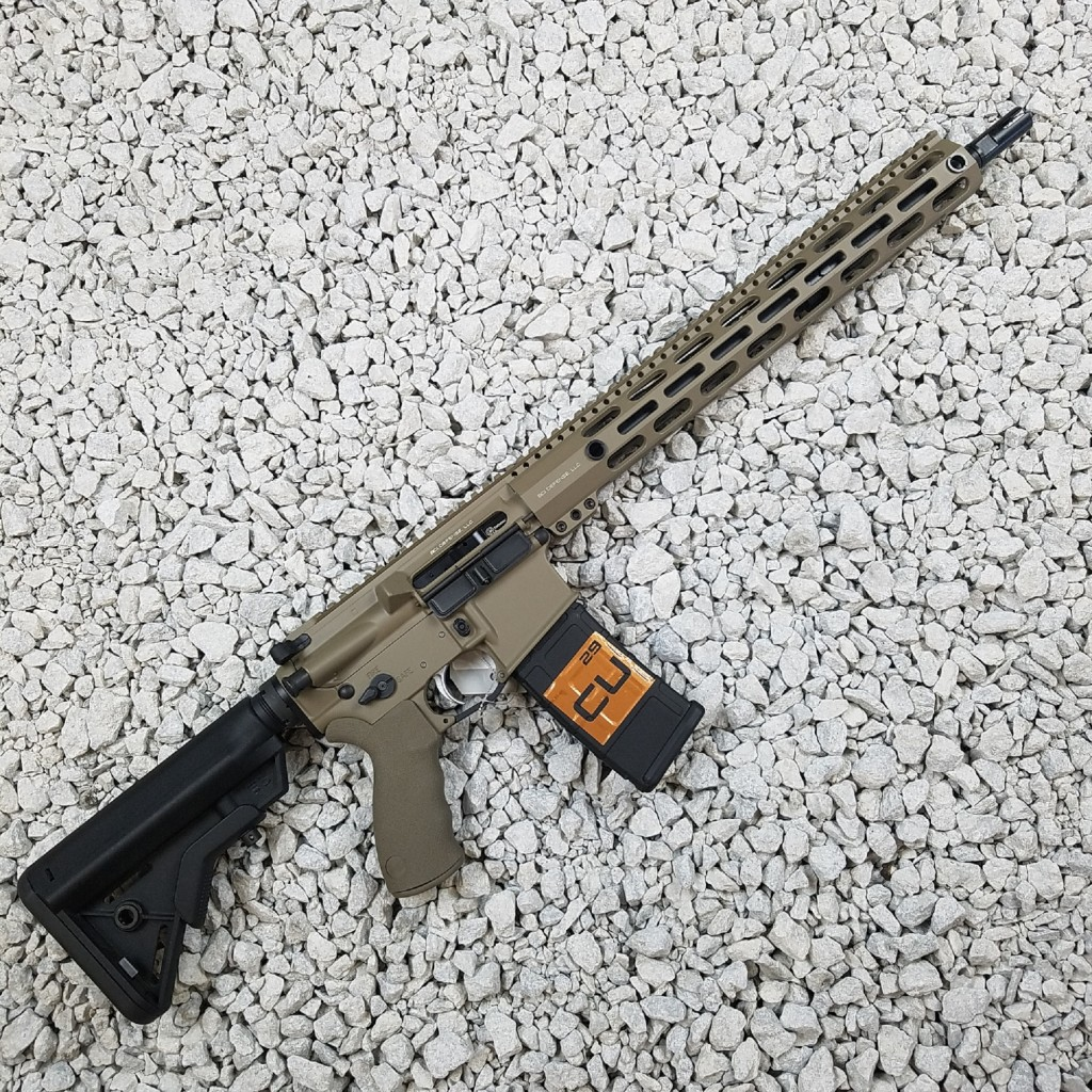 BCI Defense Professional Series Rifle - 6 5 Grendel - Copper