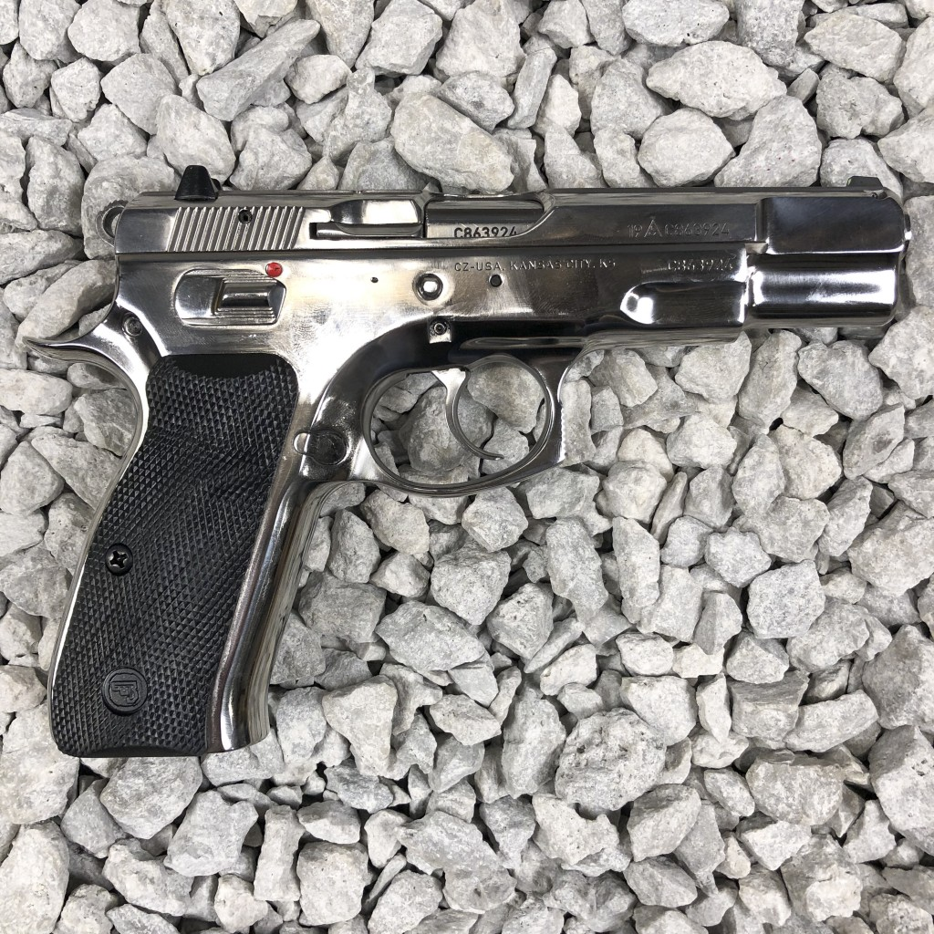 CZ 75 B High Polished Stainless - Copper Custom Armament
