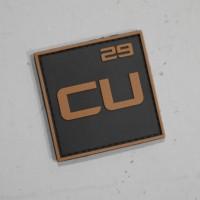 Copper Custom Logo Patch