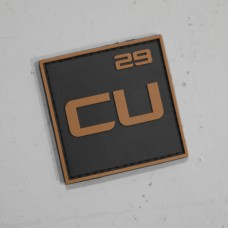 Copper Custom Logo Patch