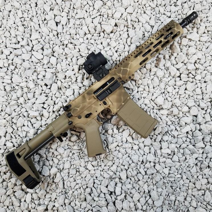 Custom AR Rifle Cerakote