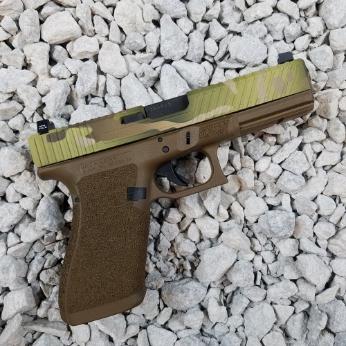 Custom Pistol Cerakote Copper Custom Armament