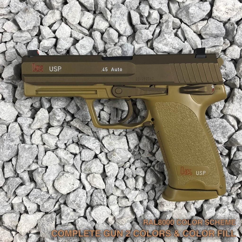 Pistol Cerakote - Copper Custom Armament