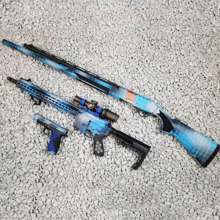 Theme Build / Custom Cerakote