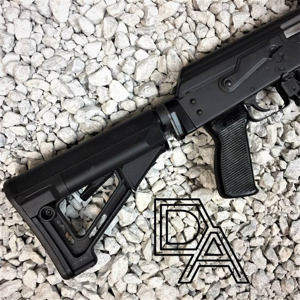 Definitive Arms AKM4 YUGO Fixed Stock Adapter - Copper