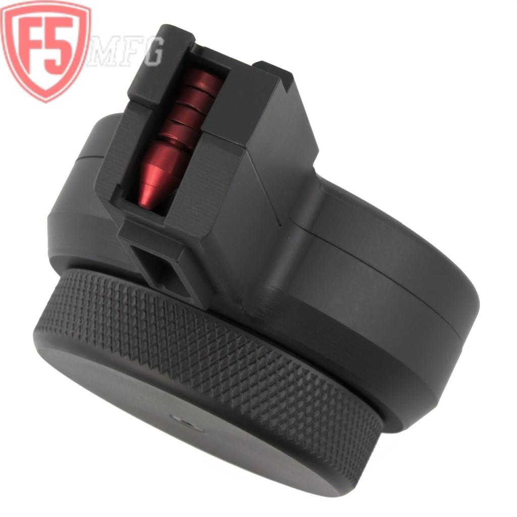 F5 Mfg CZ Scorpion 9mm 50-round Drum Magazine - Copper Custom Armament