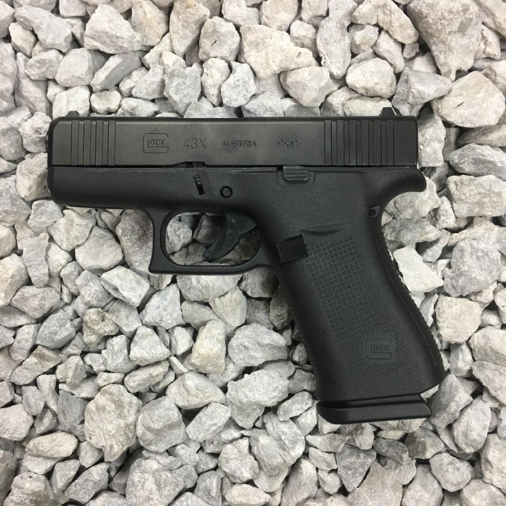 Glock 43x Black Slide - Copper Custom Armament