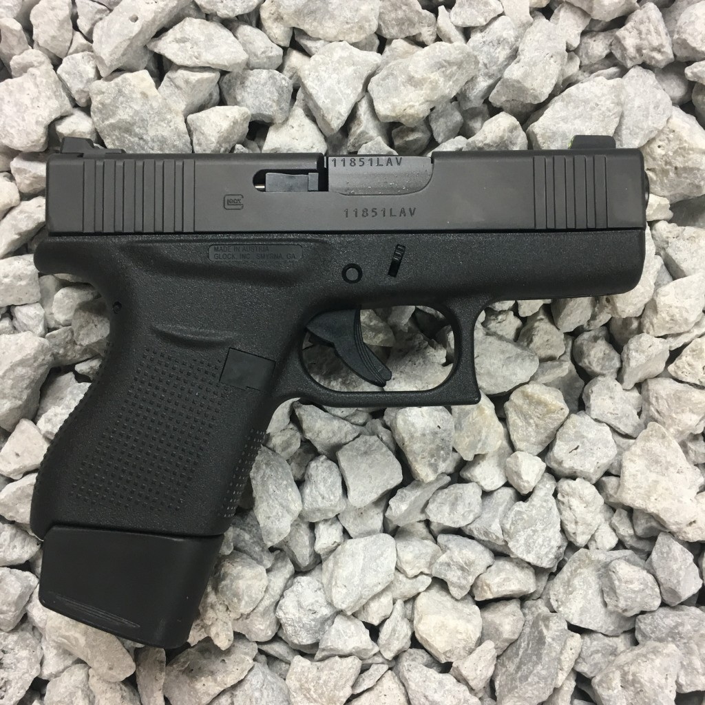 Vickers Tactical Edition Glock 43 - Copper Custom Armament