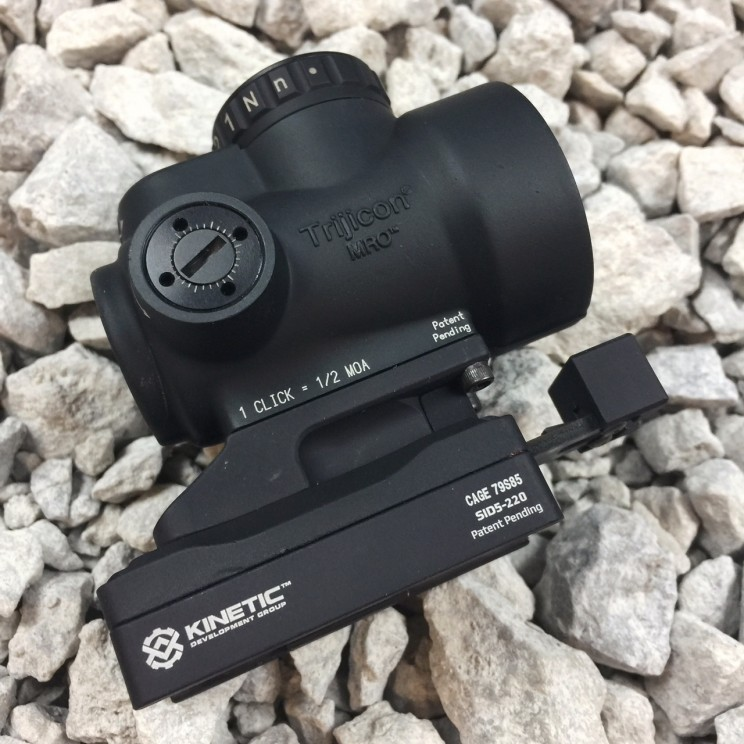 Kinetic Dev Group SIDELOK Trijicon MRO Mount Lower 1/3