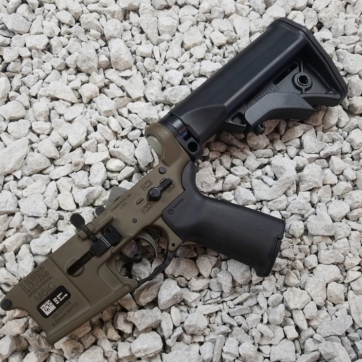 LWRC M6IC Complete Ambidextrous Rifle Lower Receiver