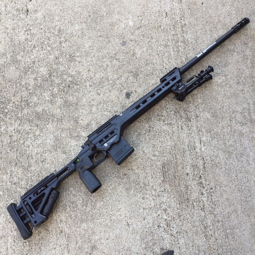 MasterPiece Arms BA Chassis Rifle 6 5 Creedmoor - Copper Custom Armament