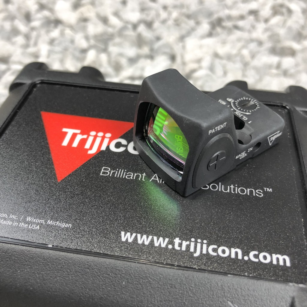 Trijicon RMR Type 1 RM06 Adjustable LED 3 25 MOA - Copper